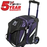 KR Cruiser Single Roller Bowling Bag- Black/Purple