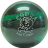 Candlepin Cobra Pro Rubber Bowling Ball- Green/Black