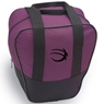 BSI Nova Single Ball Bowling Bag- Purple/Black