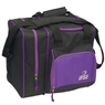 BSI Deluxe Single Ball Bowling Bag- Black/Purple