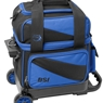 BSI Prestige Single Roller Bowling Bag- Blue/Black