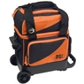 BSI Prestige Single Roller Bowling Bag- Orange/Black