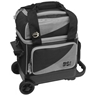 BSI Prestige Single Roller Bowling Bag- Gray/Black
