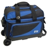 BSI Prestige Double Roller Bowling Bag- Black/Blue