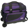 BSI Prestige Double Roller Bowling Bag- Black/Purple