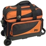 BSI Prestige Double Roller Bowling Bag- Black/Orange