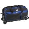 BSI Prestige 3 Ball Roller Bowling Bag- Black/Blue