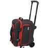 BSI Large Wheel Double Roller Bowling Bag- Black/Red