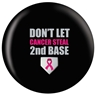 Breast Cancer Awareness Bowling Ball- Second Base