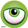 Monster Eye Ball- Green  Bowling Ball