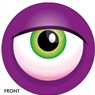 Monster Eye Ball- Purple Bowling Ball