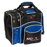Moxy Deluxe Single Bowling Bag- Black/Blue