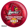 Louisville Cardinals 2013 National Champions Bowling Ball
