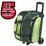 Brunswick Gear Double Roller Bowling Bag- Lime