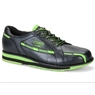 SP 800 Mens Bowling Shoes by Storm- Black/Lime-  Right Hand