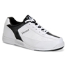 Dexter Mens Ricky III Bowling Shoes- White/Black- Wide Width