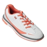 Brunswick Ladies Curve Bowling Shoes- White/Coral