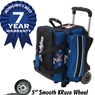 KR Strikeforce Royal Flush Double Roller Bowling Bag