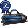 KR Strikeforce Royal Flush Slim Triple Roller Bowling Bag