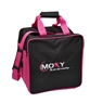 Moxy Single Tote Bowling Bag- Pink/Black