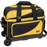 BSI Prestige Double Roller Bowling Bag- Yellow/Black