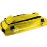 Vise Clear Top 3 Ball Roller Bowling Bag- Yellow/Black