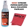 MOXY Xtreme Power Bowling Ball Cleaning Package