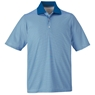 Ash City Mens Launch Snag Protection Striped Polo