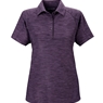 Ash City Ladies Barcode Stretch Polo