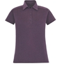 Ash City Ladies Fluid E Performance Melange Polo Shirt