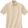 Ash City Mens Jersey Polo Shirt With Pencil Stripe