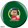 Bobby the Bowler Bowling Ball- Green