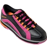 Brunswick Ladies Raven Bowling Shoes- Black/Pink/Orange