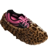 Brunswick Fun Shoe Covers- Fuzzy Leopard