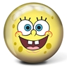 Brunswick Spongebob Squarepants Bowling Ball- Yellow