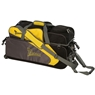 Track Premium 3 Ball Tote Roller Bowling Bag with Pouch- Yellow/Gray