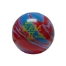 Candlepin Ram II Pro Rubber Bowling Ball- Red/Blue/Lavender