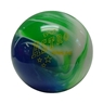 Candlepin Astro Starline Bowling Ball- Blue/White/Green