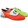 Ladies Glow TCRGV Cobra Rental Bowling Shoes- Hook and Loop
