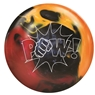 900 Global Pow Bowling Ball- Red/Black/Orange