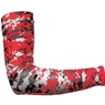 Badger Sport Compression Sleeve Digital Camoflauge- Black/Red