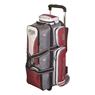 3 Ball Rolling Thunder Bowling Bag by Storm- Grey/Red/White