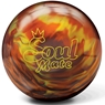 Brunswick Soul Mate Bowling Ball- Orange Fire Pearl