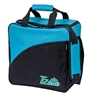 Brunswick T-Zone II Single Bowling Bag- Black/Aqua