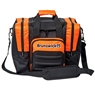 Brunswick Flash Single Tote Bowling Bag- Black/Orange