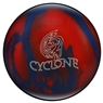 Ebonite Cyclone Bowling Ball- Blue/Red Sparkle