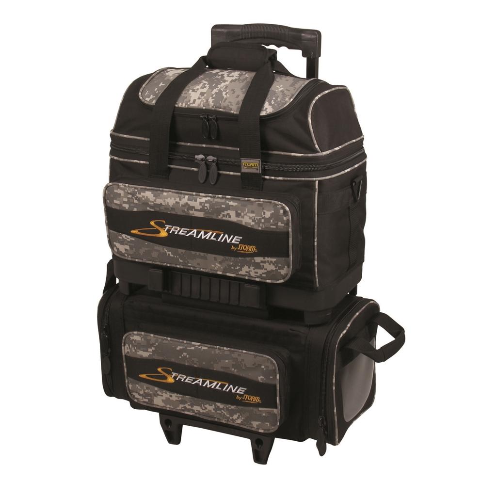 Storm Streamlin E 4 Ball Roller Bowling Bag Black Camo