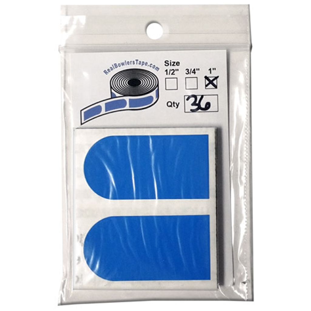 Real Bowlers Tape Blue Pack of 36- 1 Inch