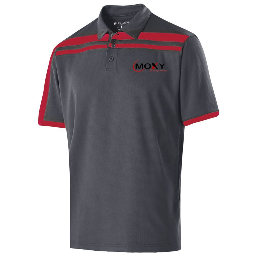 Moxy Dry Breathe Mens Charge Polo