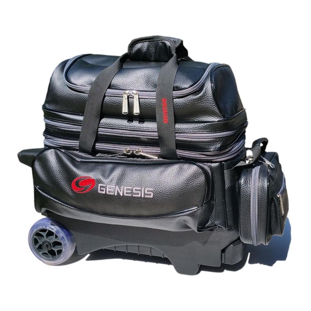 Genesis Premium 2 Ball Roller Bowling Bag